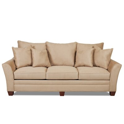 Moffet Sofa Finish: Microsuede Camel
