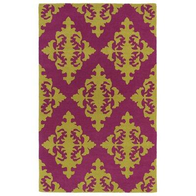 Slovan Pink Area Rug Rug Size: 96 x 13