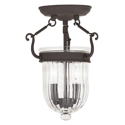 Lindley 2-Light Foyer Pendant Finish: Bronze