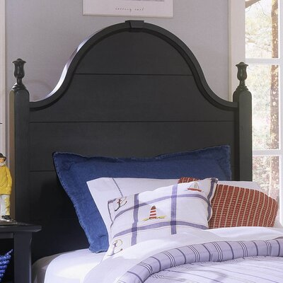 Marquardt Wood Headboard Finish: Black, Size: Full