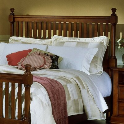Marquardt Slat Headboard Finish: Cherry, Size: Twin