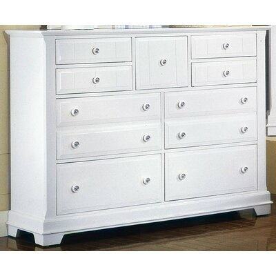 Marquardt 9 Drawer Dresser Finish: Snow White