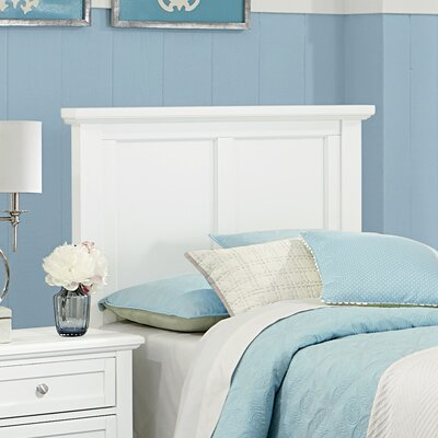 Gastelum Mansion King Panel Headboard Color: Soft White
