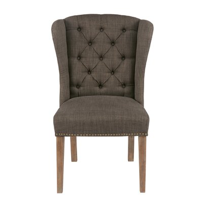 Bluebird Side Chair Upholstery: Gray