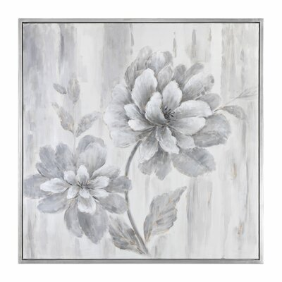Leaf Floral Framed Painting
