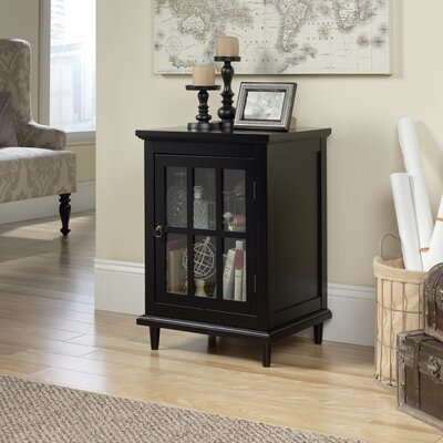 Covington Display Cabinet Finish: Black