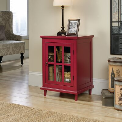 Covington Display Cabinet Finish: Candy Apple Red