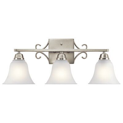Cardington 3-Light Vanity Light Finish: Brushed Nickel