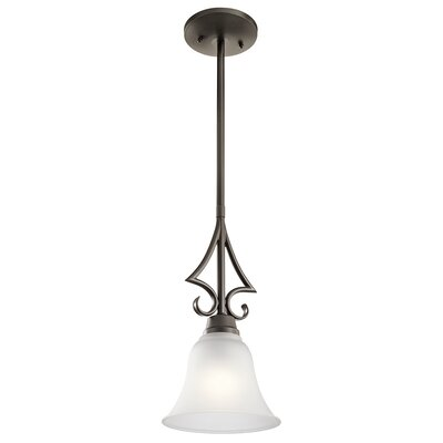 Cardington 1-Light Mini Pendant Finish: Old Bronze