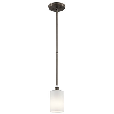 Clara 1-Light Mini Pendant Finish: Old Bronze