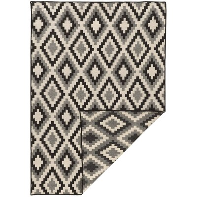 Corvally Hand-Tufted Gray Area Rug