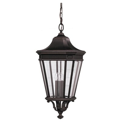 Chesterhill 1-Light Outdoor Pendant Finish: Grecian Bronze