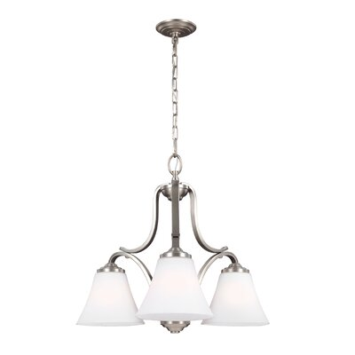 Cincinnati 3-Light Shaded Chandelier