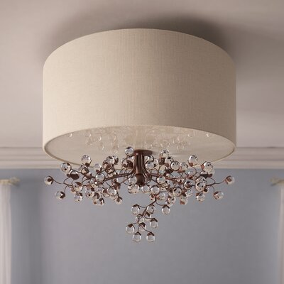Davidson 3-Light Semi Flush Mount