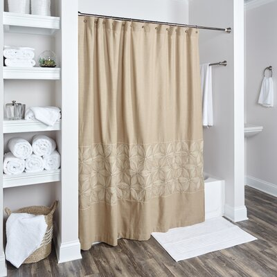 Lockbourne Cotton Shower Curtain