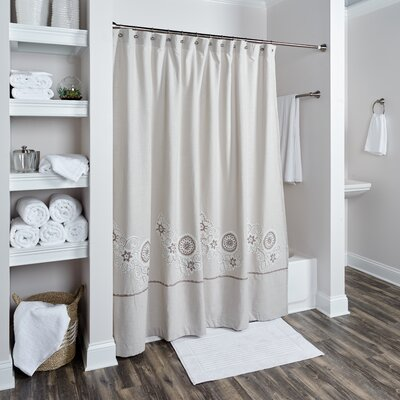 Cheap Lockerbie Cotton Shower Curtain for sale