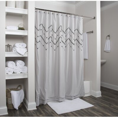Lucasville Cotton Shower Curtain