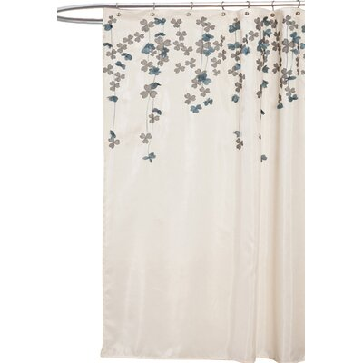 Nicolas Embroidered Shower Curtain