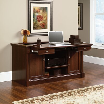 Stylish Credenza Desk Hutch Product Photo