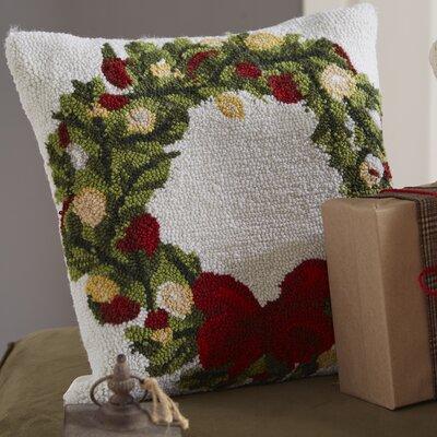 Haggerty Wreath Throw Pillow