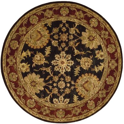 Delaware Area Rug Rug Size: Round 6