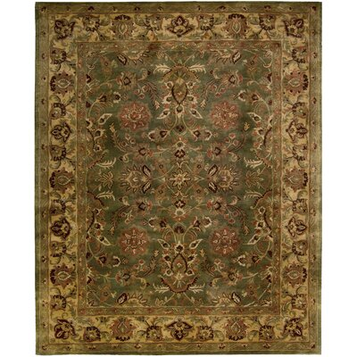 Delaware Hand-Woven Wool Area Rug Rug Size: Rectangle 96 x 136
