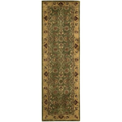 Delaware Hand-Woven Wool Area Rug Rug Size: Runner 24 x 8