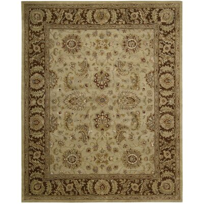 Delaware Hand-Tufted Beige Area Rug Rug Size: Rectangle 83 x 116