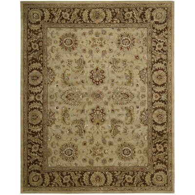 Delaware Hand-Tufted Beige Area Rug Rug Size: 79 x 99