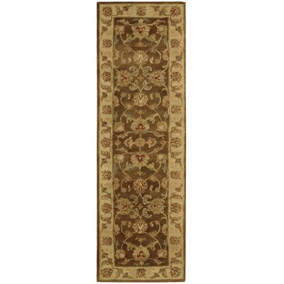Delaware Hand-Tufted Brown Area Rug Rug Size: Runner 24 x 8