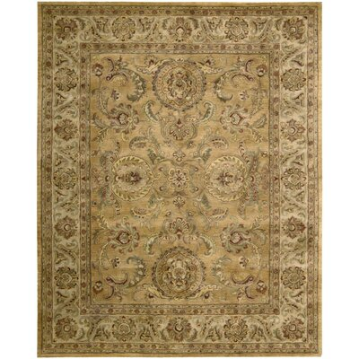 Delaware Gold Area Rug Rug Size: Rectangle 39 x 59