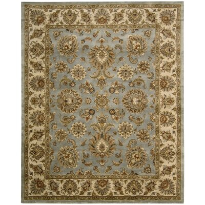 Delaware Light Blue Rug Rug Size: Rectangle 83 x 116