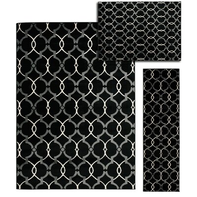 Moreland 3 Piece Hand Crafted Onyx Area Rug Set