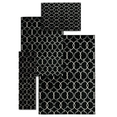 Moreland 4 Piece Hand Crafted Onyx Area Rug Set
