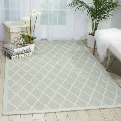 Northridge Blue Indoor/Outdoor Area Rug Rug Size: Runner 26 x 8