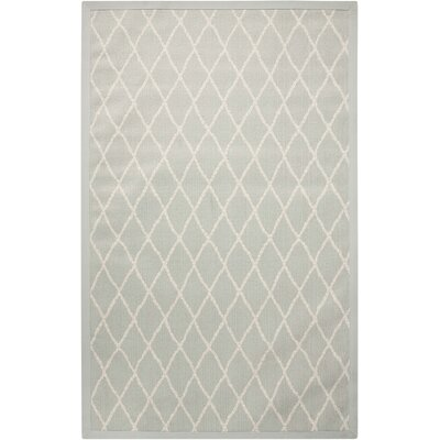Northridge Blue Indoor/Outdoor Area Rug Rug Size: 9' x 13'