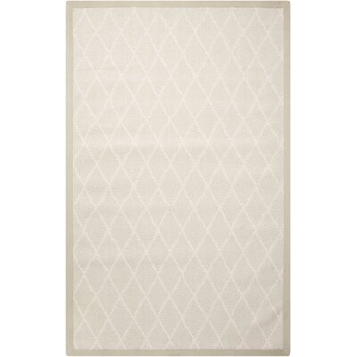 Northridge Beige Indoor/Outdoor Area Rug Rug Size: 5 x 8