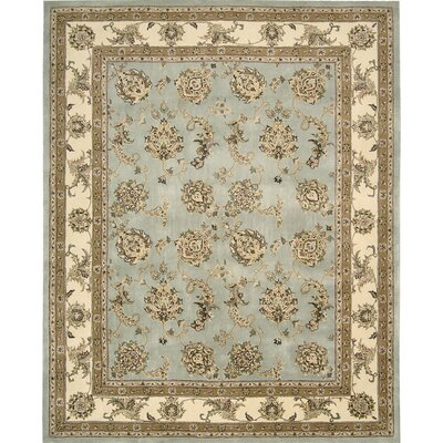 Ottoville Hand-Tufted Blue/Beige Area Rug Rug Size: Rectangle 5 x 8