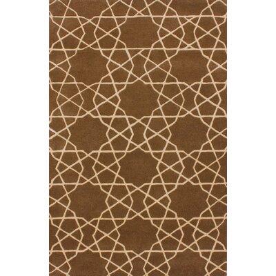 Alison Cocoa Virtu Area Rug Rug Size: 76 x 96