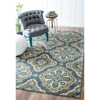 Auburn Road Gray Area Rug Rug Size: Runner 26 x 8
