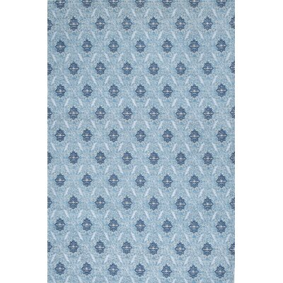 Balic Blue Area Rug Rug Size: 76 x 96