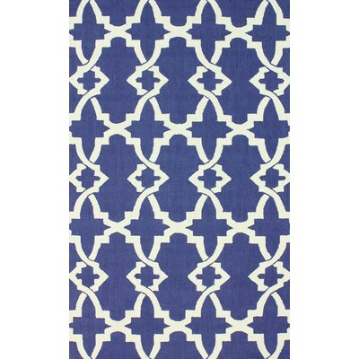 Balic Royal Blue Area Rug Rug Size: 86 x 116