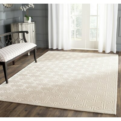 Bainbridge Hand-Knotted Pearl Area Rug