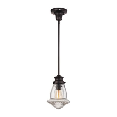 Swearingen 1-Light Mini Pendant Finish: Oil Rubbed Bronze