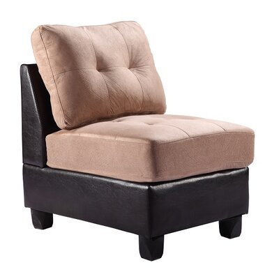 Oregon Slipper Chair Upholstery: Mocha