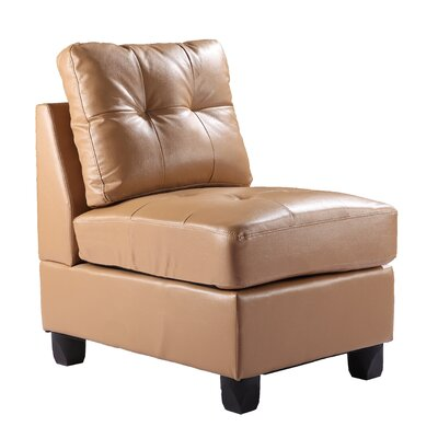 Childress Slipper Chair Upholstery: Tan
