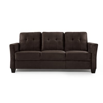 Fairborn Sofa Upholstery: Chocolate