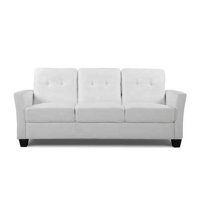 Fairborn Sofa Upholstery: White