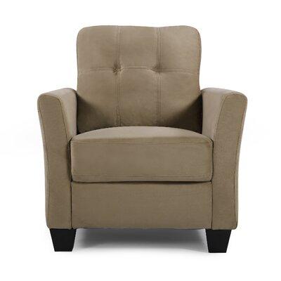 Fairborn Armchair Upholstery: Mocha