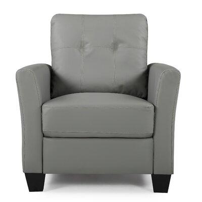 Fairborn Armchair Upholstery: Gray